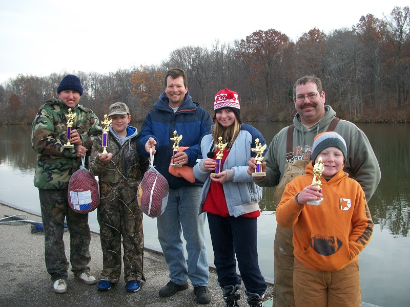 Winners of the 2014 Turkey Day Open