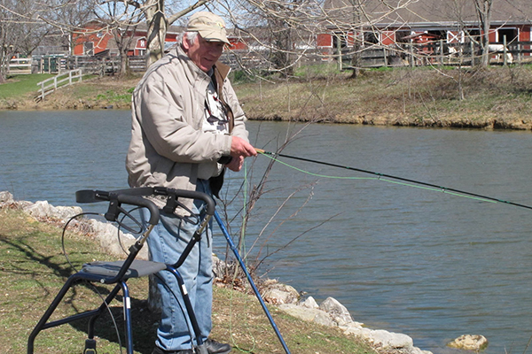 Healing waters great parks of hamilton county blog for Healing waters fly fishing