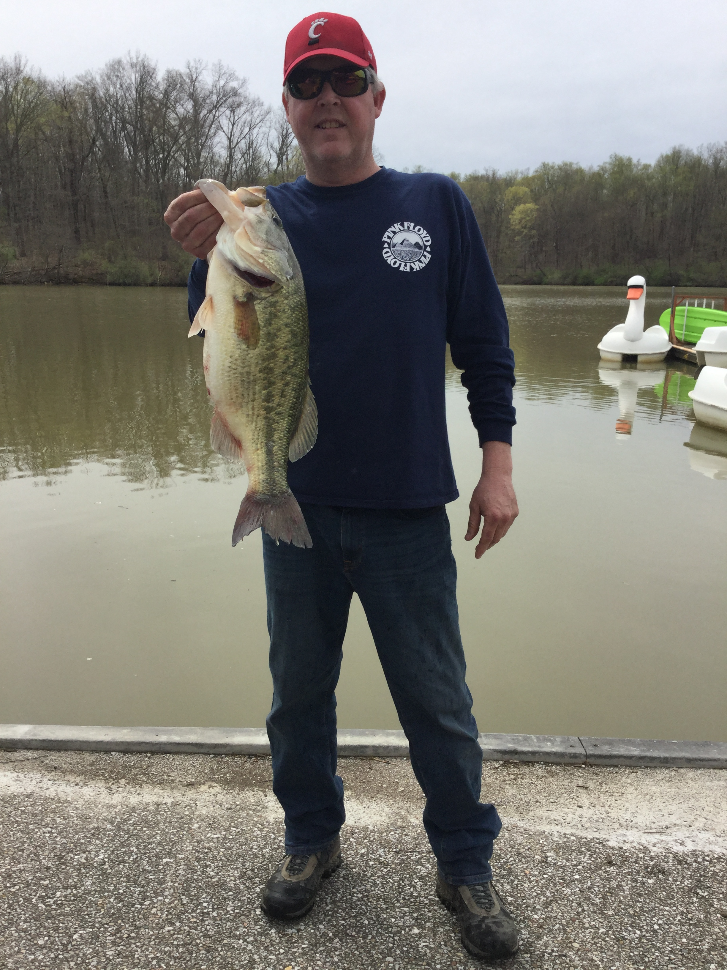 April 13 Largest Bass