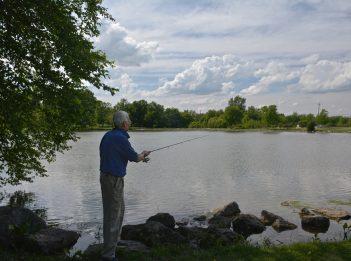 Fishing at Triple Creek