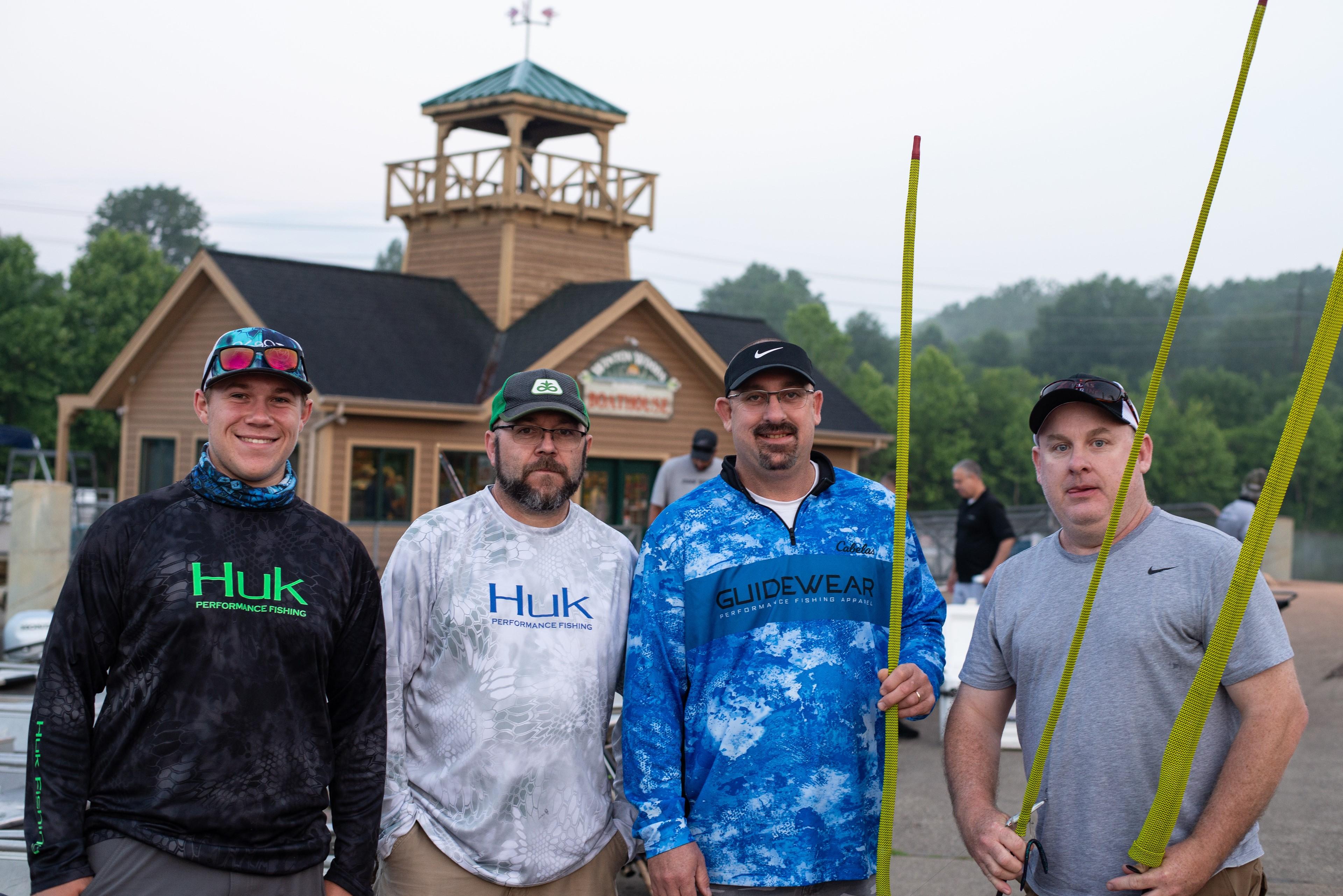 July 14 Bass Series Anglers