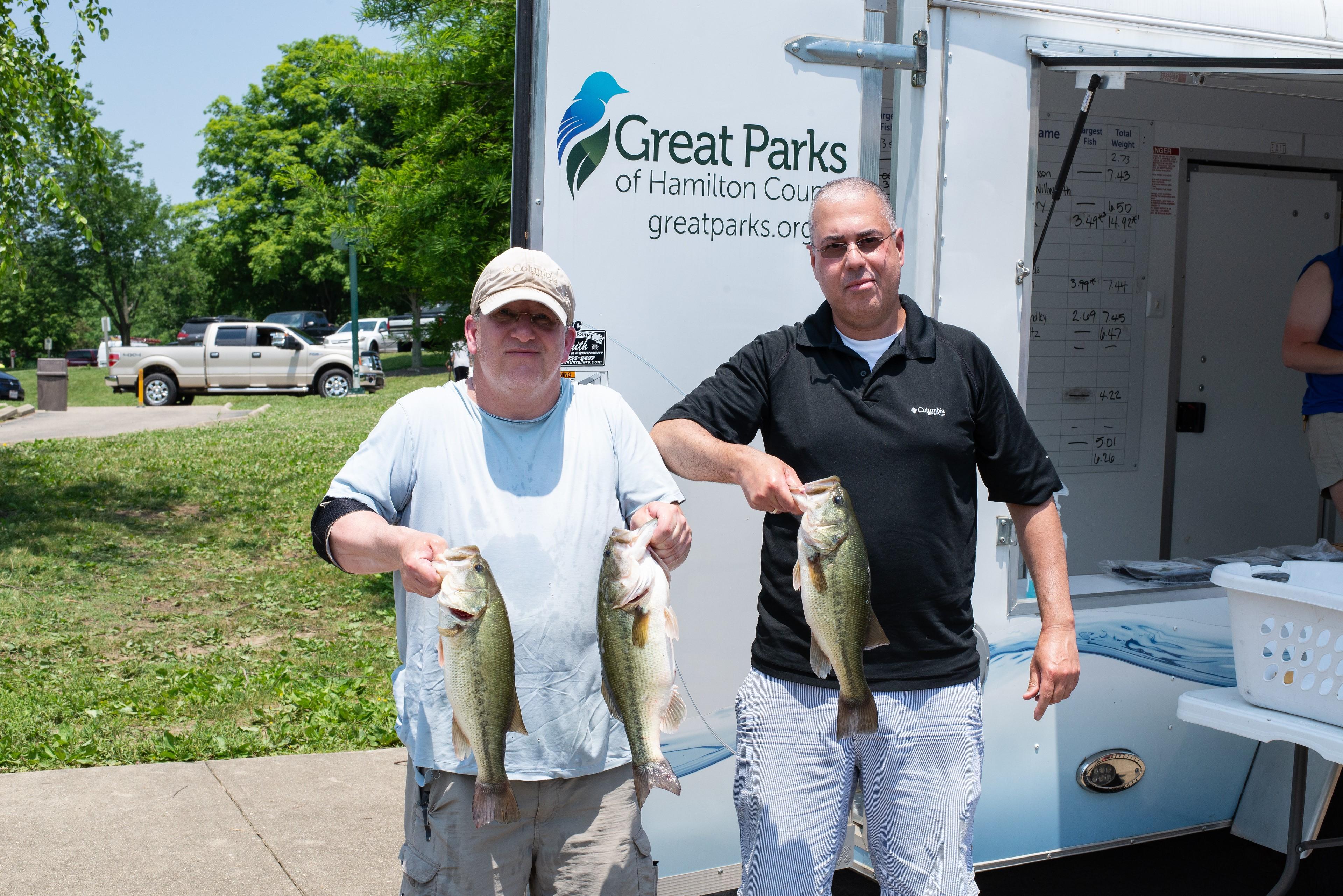 July 14 Bass Series Paul Regensburger and Julio Delgado