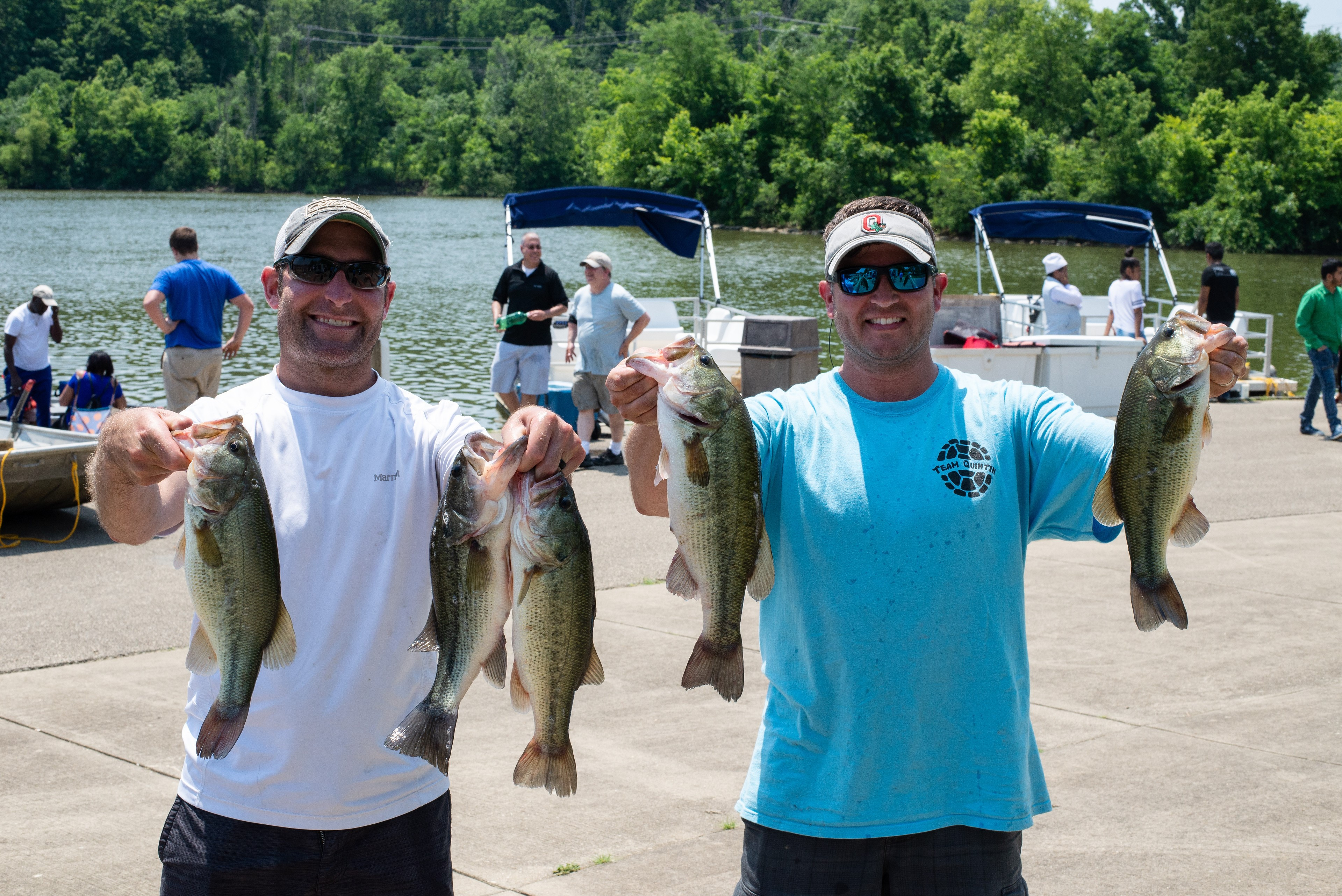 July 14 Bass Series Ryan Zwick and Brent Jones