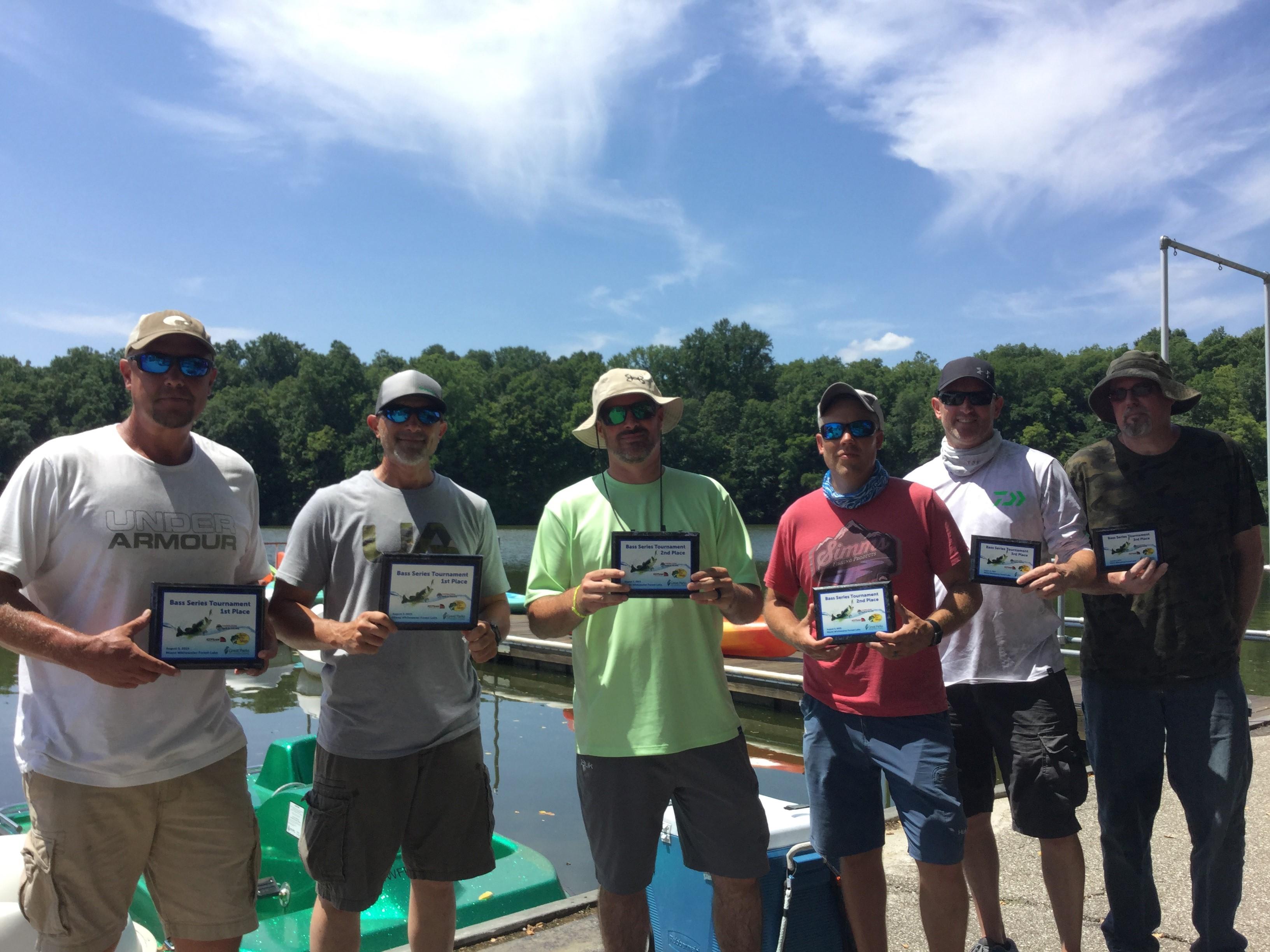 August 3 Bass Series Winning Teams