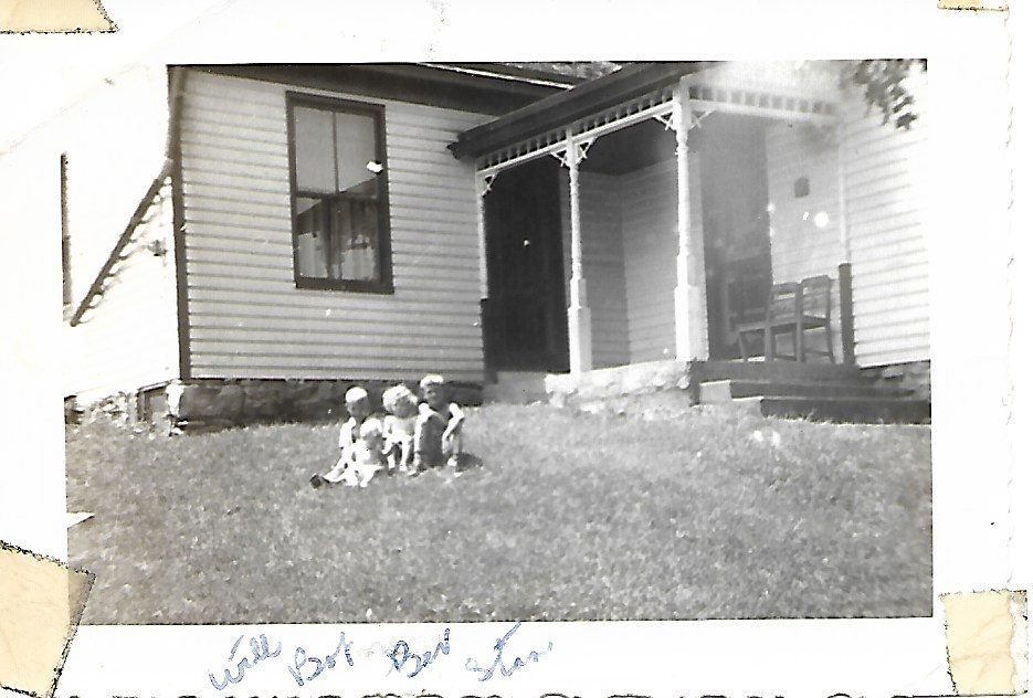 The first house on Strimple Road, 1949.