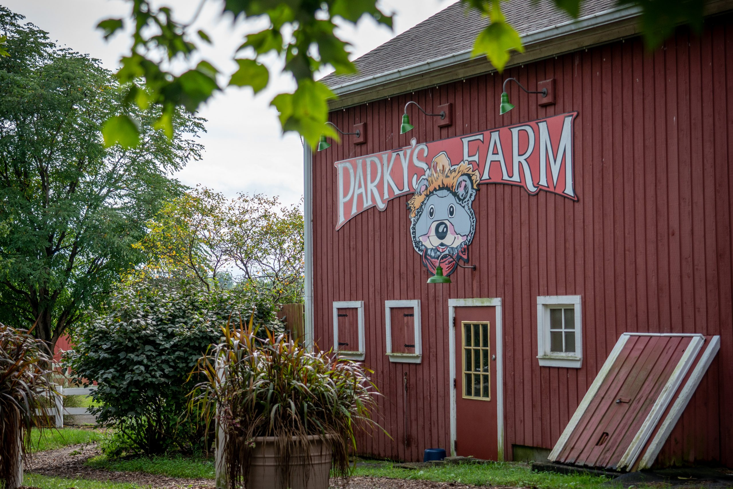 The outside of Parky's Playbarn.