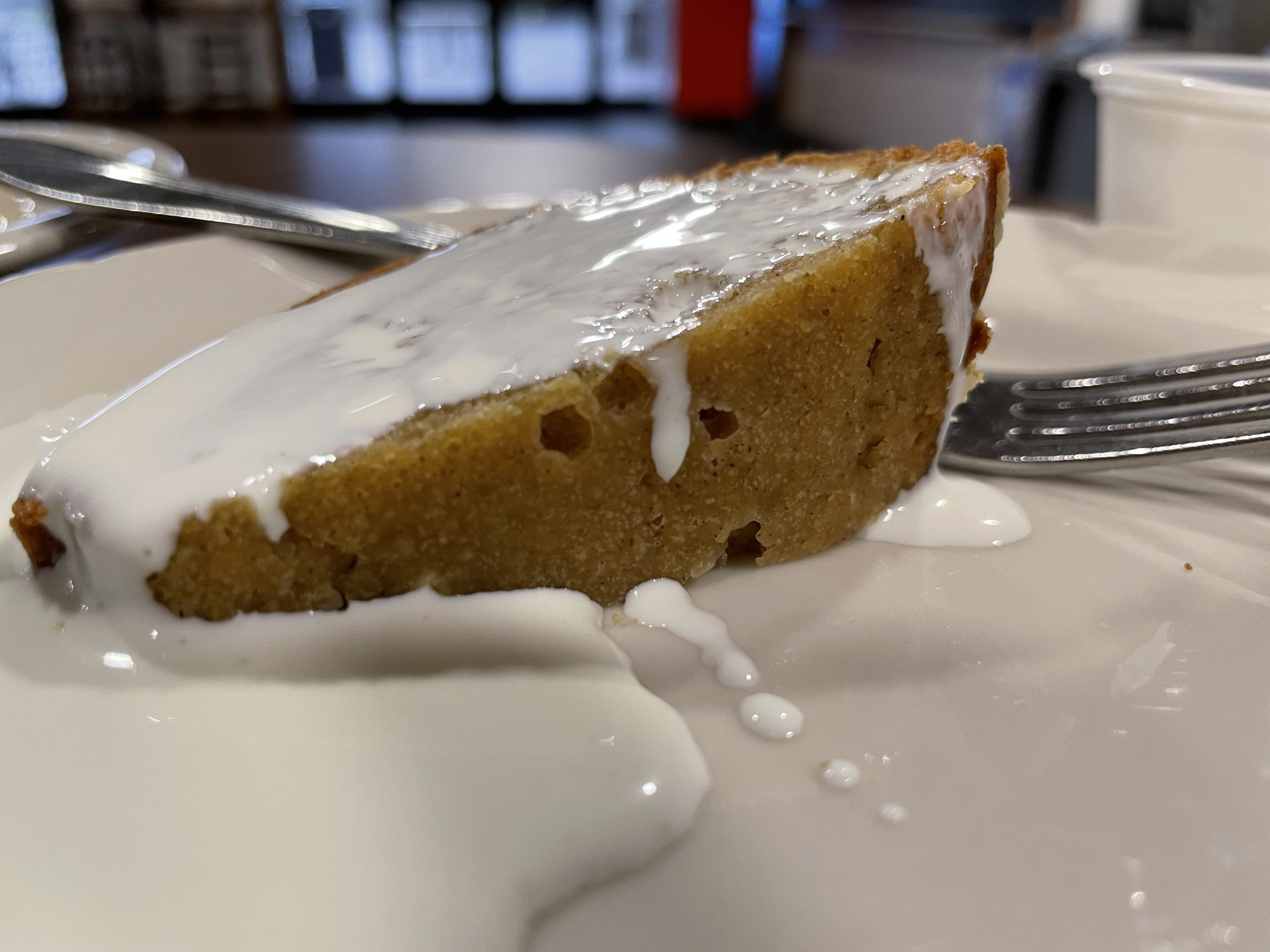 Steamed Pumpkin Pudding with Cream
