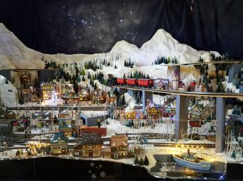 Holiday Train Display