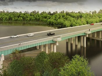 Beechmont Bridge proposed plan